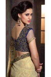 Stylish Heavy Blouse Saree
