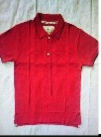 Boys Solid Polo T Shirt