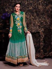 Floral Anarkali Salwar Suit