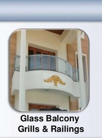 Ss Glass Balcony Grills