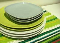 Green Acrylic Plates