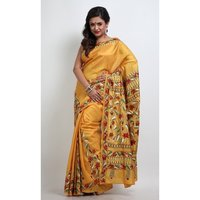 Pure Silk Kantha Saree