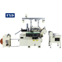 Sticker Label Die Cutting Machine