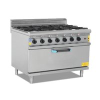 Gas Fired Cooker With Oven (Je-M-Dog 460)