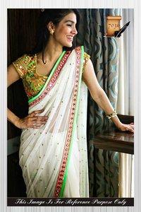 Ethnic Bollywood Designer Saree