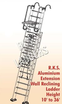 FRP Wall Support Ladder Extension