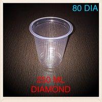 Disposable Glass (250ML Diamond)
