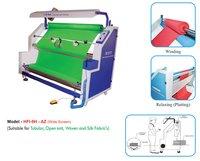 4 Option Tubular Fabric inspection Cum Winding Machines