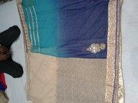 Double Shaded Chiffon Saree