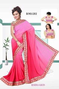Ethnic Party Wear Sarees (Design No.1202)