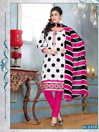 Printed Cotton Ladies Sawar Kameez Suit
