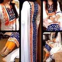 Cotton Full Embroidery Ladies Sawar Kameez Suits