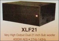 Very High Output Dual 21 Inch Sub Woofer
