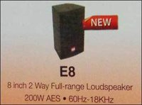 2 Way Full Range Loudspeaker