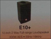 2 Way Full Range Loudspeaker (10 Inch)