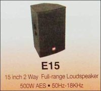2 Way Full Range Loudspeaker (15 Inch)
