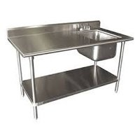 Stainless Steel Sink with Working Table