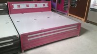 Metal Beds (Pink And White)