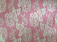Lotus Jacquard Nylon Lace Fabric