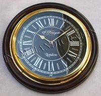 Round Shape Wooden Wall Clocks