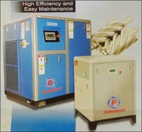 3.7 and 7.5 Kw Oil Floded Screw Compressor