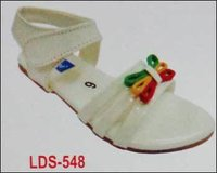 White Color Girls Sandals