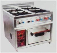 Gas Range With Oven