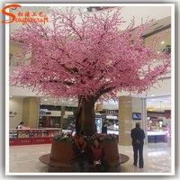 Distinctive Design Indoor Decoration Artificial Cherry Blossom Tree