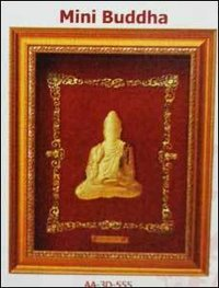 Mini Buddha Golden Frame