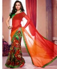 Double Shaded Sarees