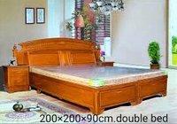 Double Bed Wooden Handicraft