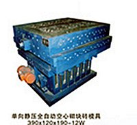 Unidirectional Hydrostatic Hollow Brick Mould