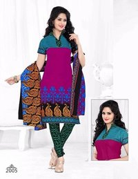 Ladies Cotton Salwar Suit Fabric