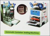 Automatic Container Sealing Machine