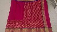 aff silk aff Cotton Chanderi Saree