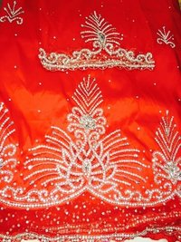 Embroidery Silk George Fabrics