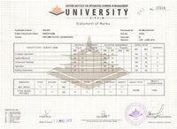 University Marksheet Printing Services