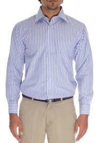 Men Striped Formal Shirts