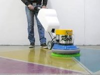 Semi Automatic Floor Polishing Machine