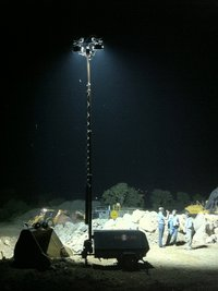 Portable Flood Lighting Towers