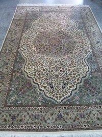 Fancy Wool Silk Carpet