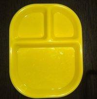 Plastic 3 Partition Plates