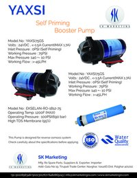 Self Priming Ro Booster Pump