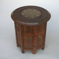 Morocco Wooden Table