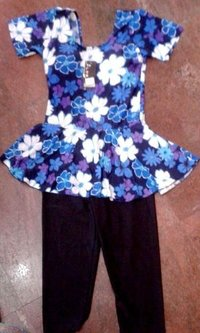 Frock Style Ladies Swimming Costume