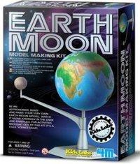 Kidz Labs Earth Moon Medel Making Kit Toy