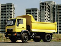 Box Body Construction Tipper Trucks