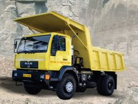 Rock Body Mining Tipper Truck