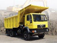 Box Body Construction Tipper Truck