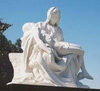 Fine Finish Fiberglass Statue